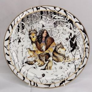 """Where Paths Meet Collection"" NATIVE HARMONY plate"
